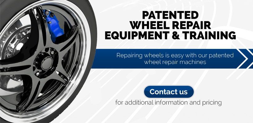 Lenco Holding Wheel Repair Equipment