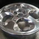 Semi Finished alloy rim polishing